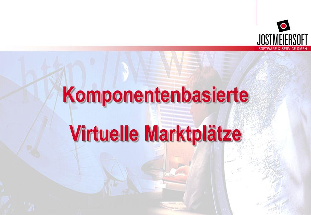 Komponentenbasierte Virtuelle Marktplätze