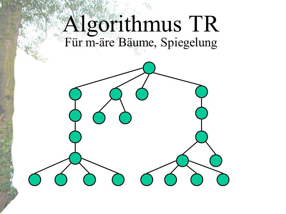 Algorithmus TR Für m-äre Bäume, Spiegelung