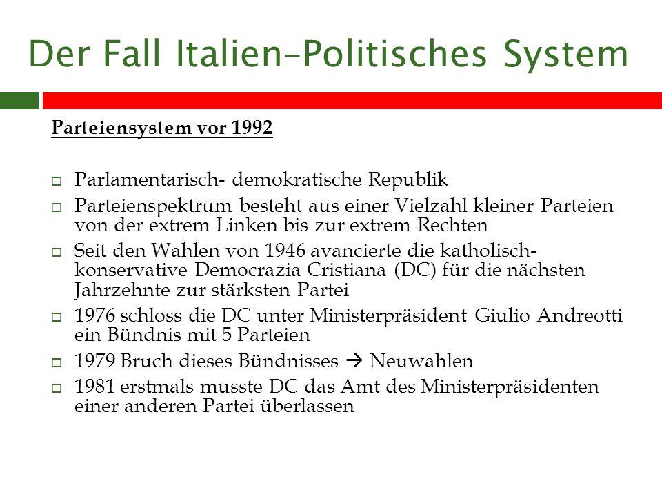 Routine- und Wahlkampfkommunikation Wahlkampf der Forza-Italia : Wahl kampagne von Berlusconis Werbeangentur Publitalia geleitet.