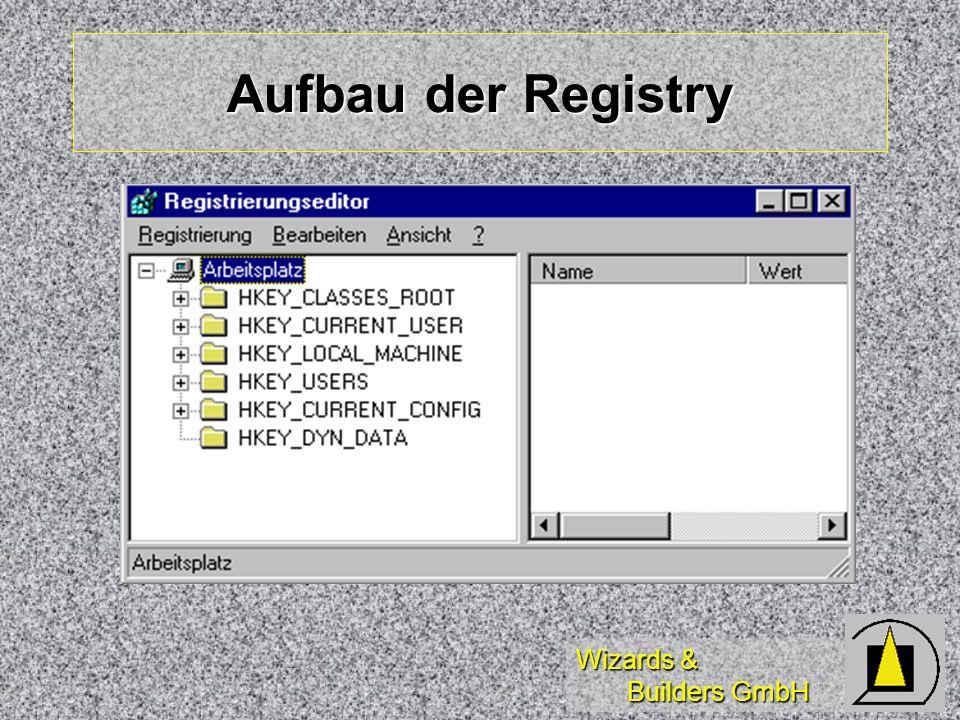 Wizards & Builders GmbH Aufbau der Registry
