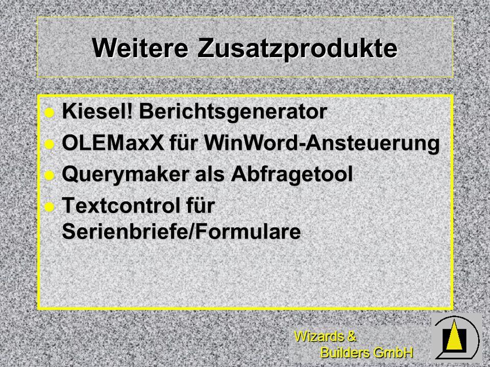Wizards & Builders GmbH Weitere Zusatzprodukte Kiesel.