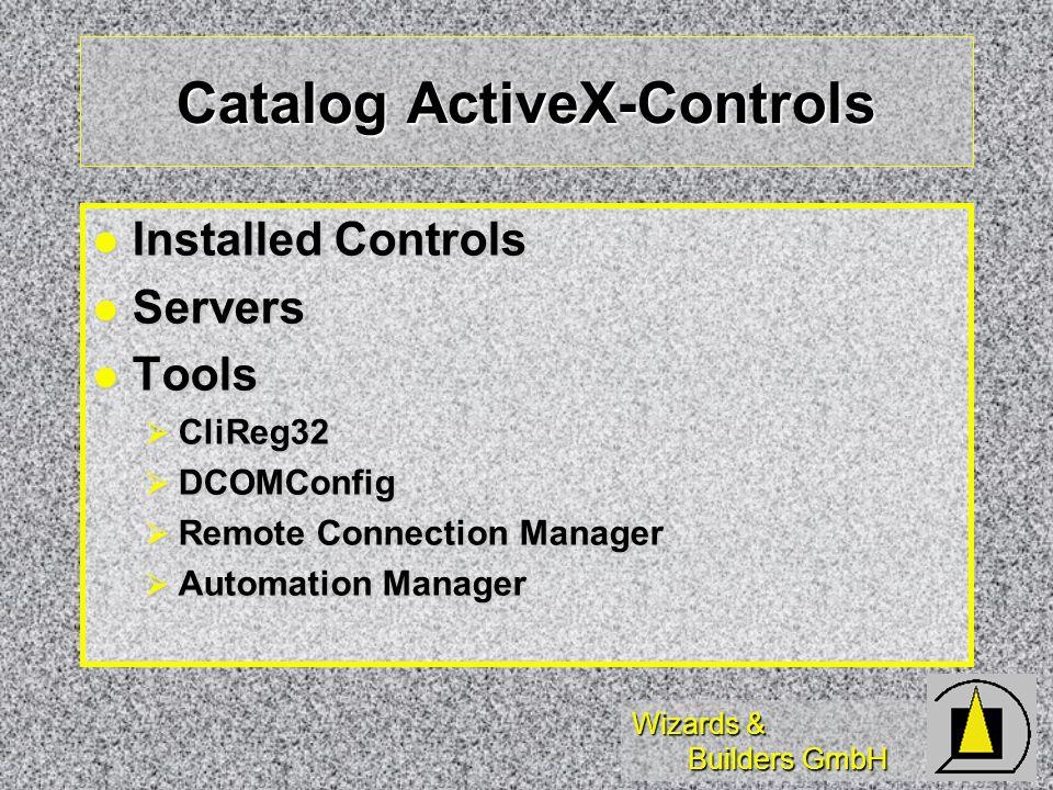 Wizards & Builders GmbH Solutions Beispielklassen und - Beispielobjekte für Microsoft Visual FoxPro
