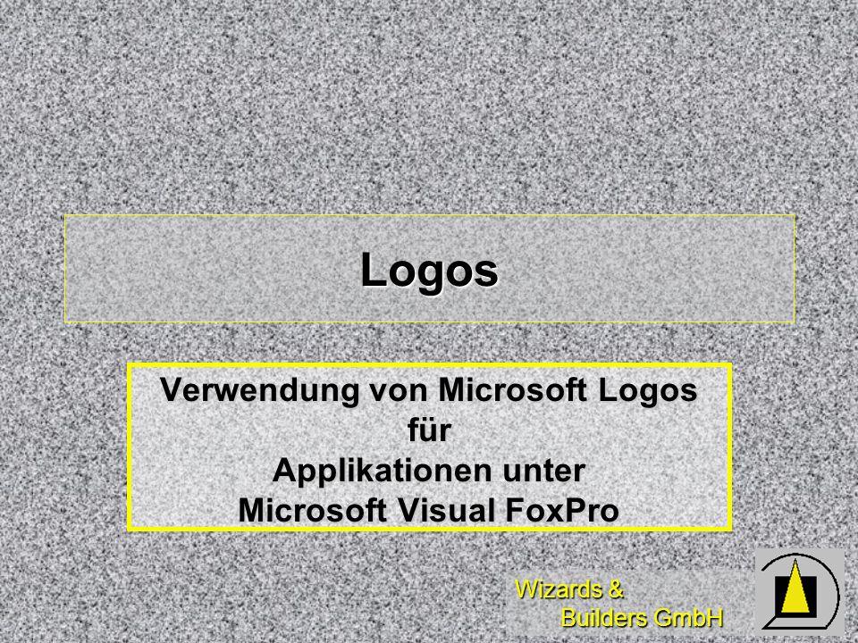 Wizards & Builders GmbH Logos Verwendung von Microsoft Logos für Applikationen unter Microsoft Visual FoxPro