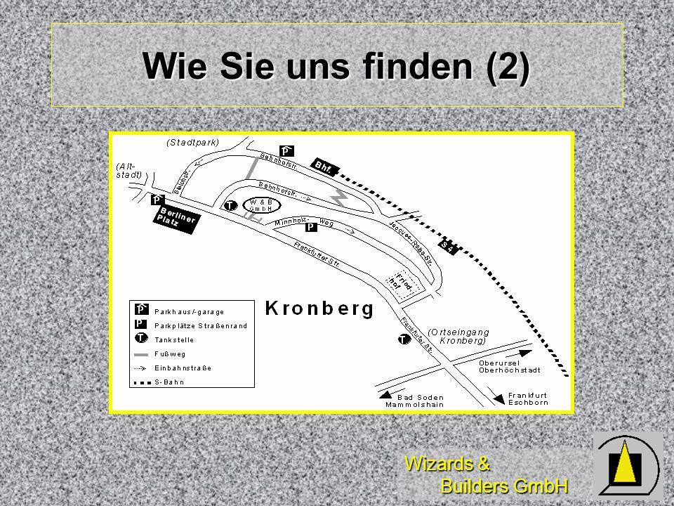 Wizards & Builders GmbH Wie Sie uns finden (2)