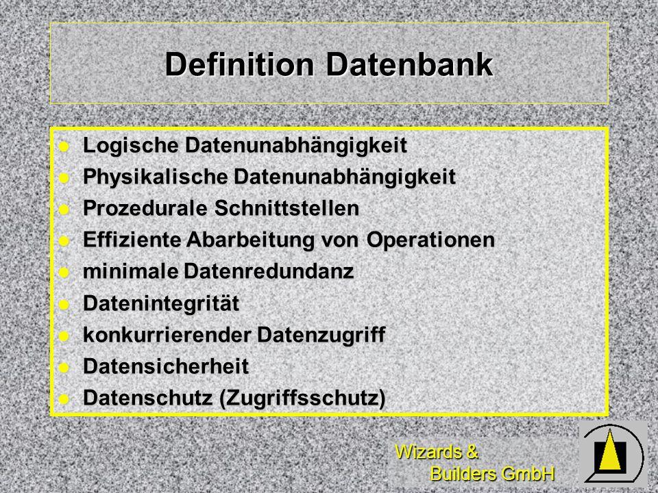 Wizards & Builders GmbH SQL-Statements (2) SQLEXEC( * ) SQLEXEC( * ) SQLMORERESULTS( * ) SQLMORERESULTS( * ) SQLCANCEL( = )Abbruch SQLCANCEL( = )Abbruch SQLPREPARE( )Precompiling SQLPREPARE( )Precompiling SQLCOMMIT( )Commit Trans.