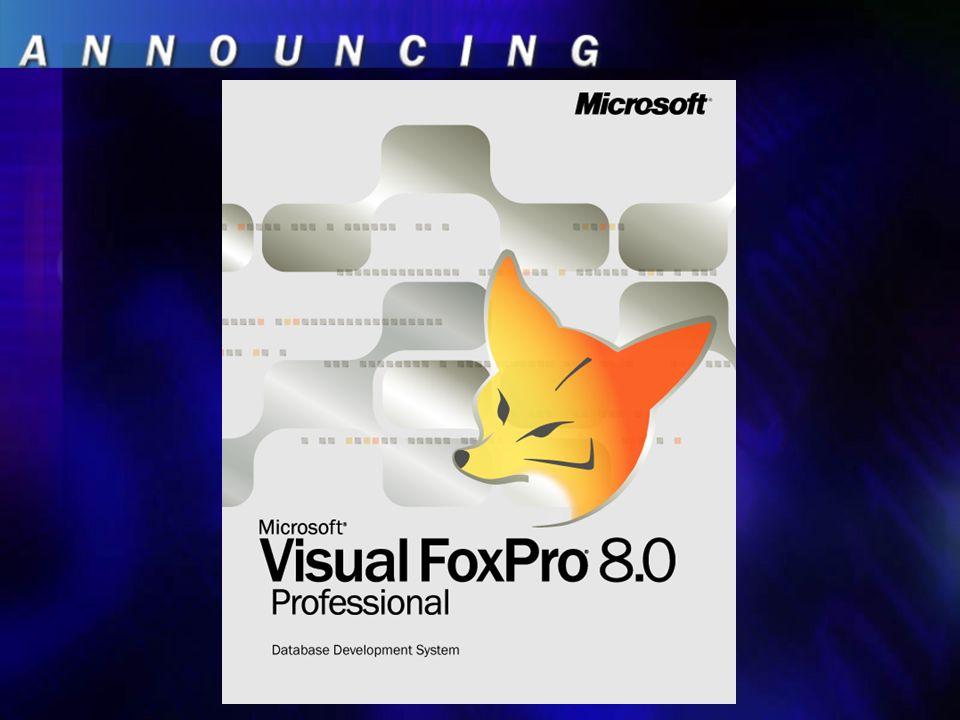 VFP 8.0, der Hintergrund …