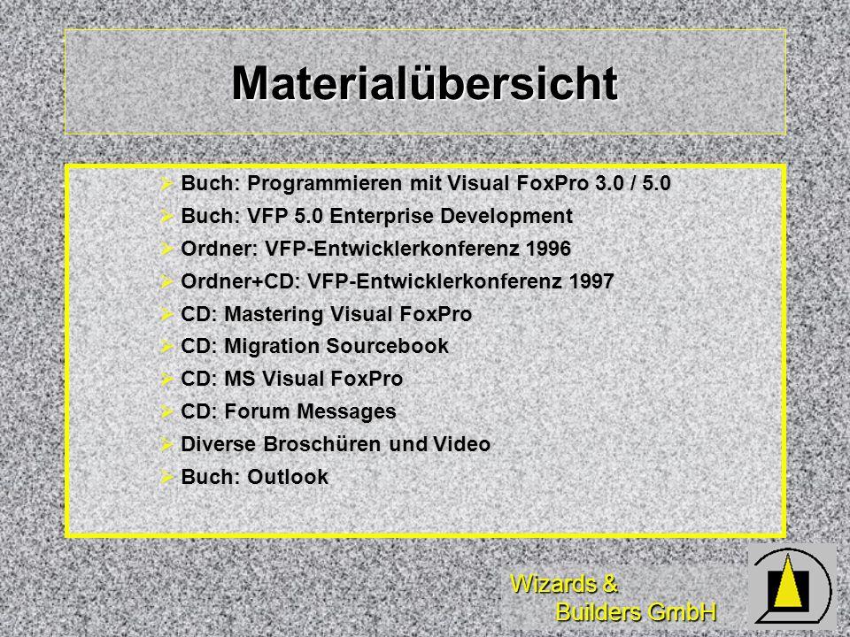 Wizards & Builders GmbH Wo kann man noch schauen.