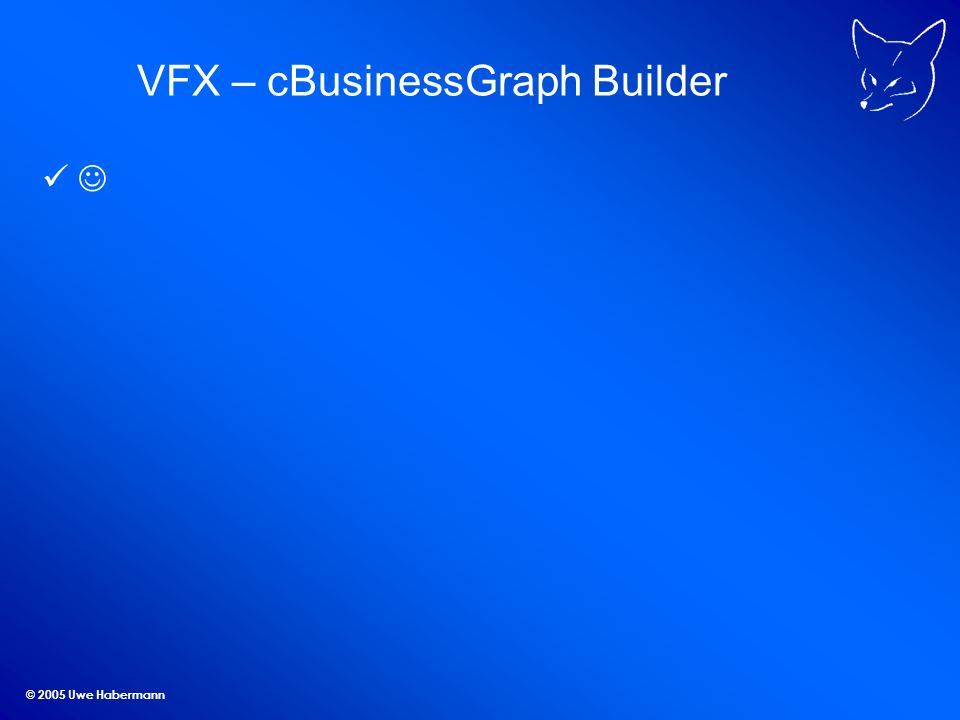 © 2005 Uwe Habermann VFX – cBusinessGraph Builder