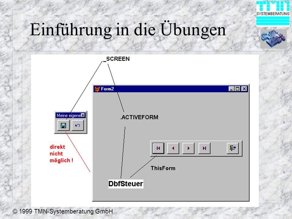 © 1999 TMN-Systemberatung GmbH Einführung in die Übungen
