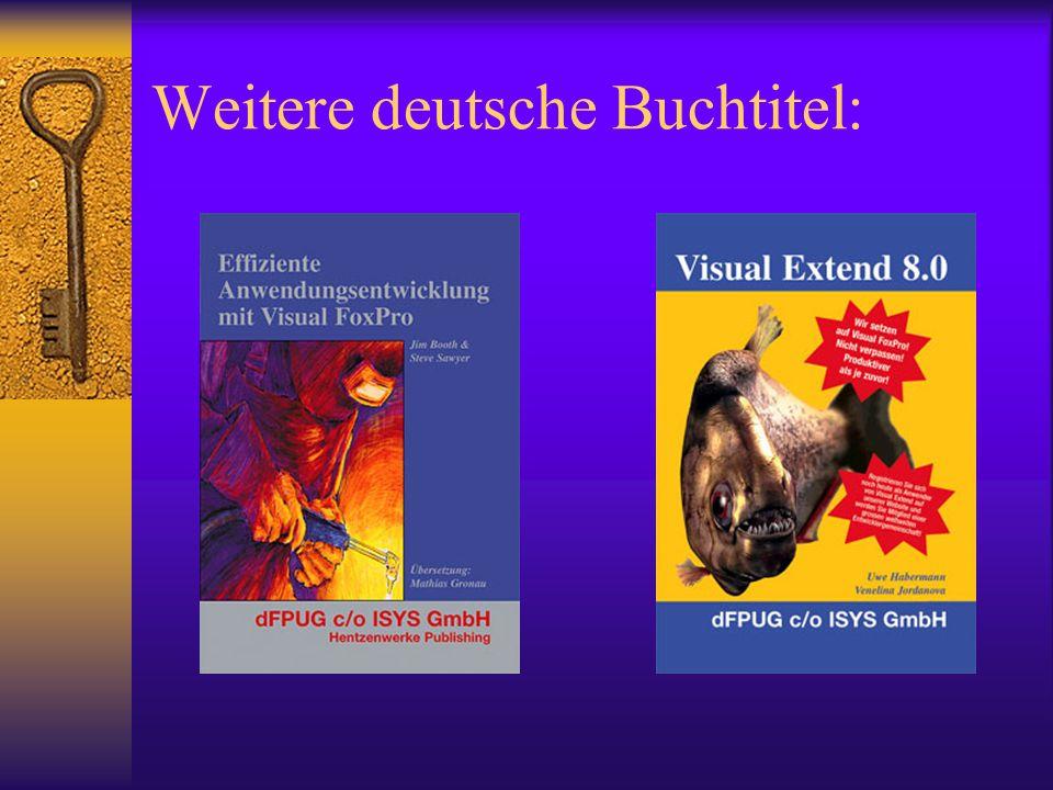 Weitere deutsche Buchtitel: