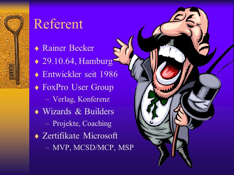 Weitere IndexFilter (IFilter) Jeweils zusätzlich zu installieren: XML RTF PDF (von Adobe) CDR (von Corel Draw) TIFF (Einschaltung Schrifterkennung) –Support\Tools\TIFF_OCR_ON.REG