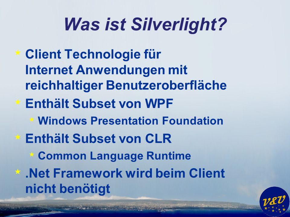 Was ist Silverlight.