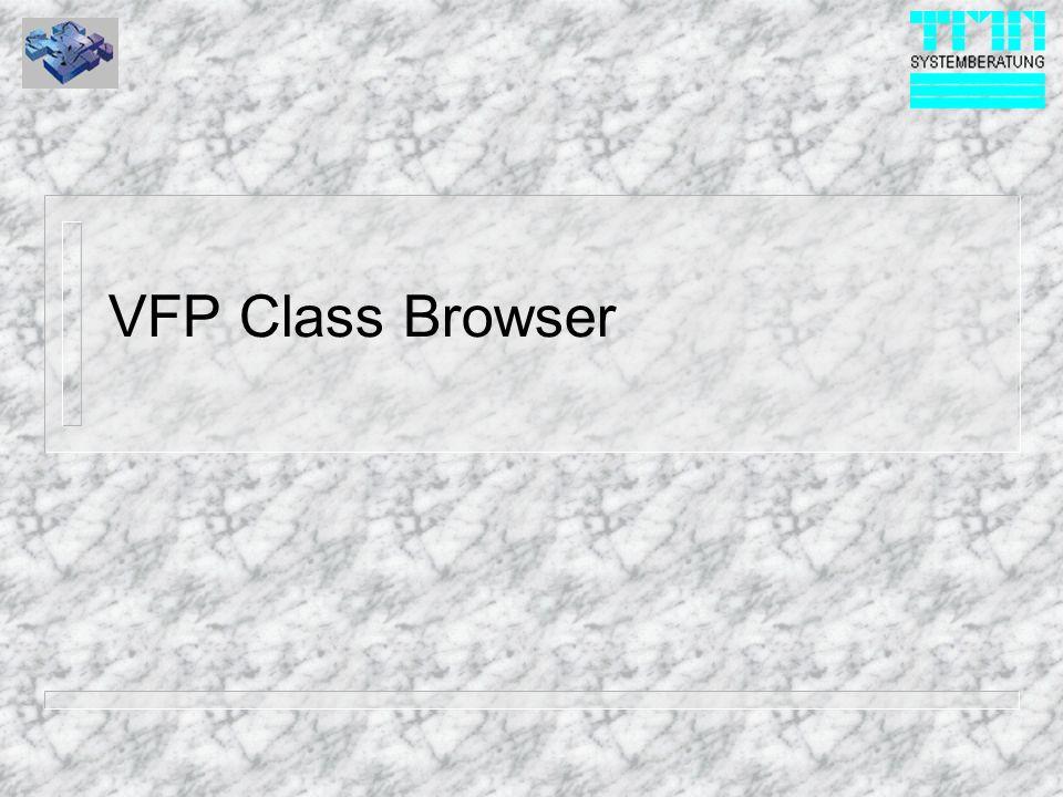 VFP Class Browser