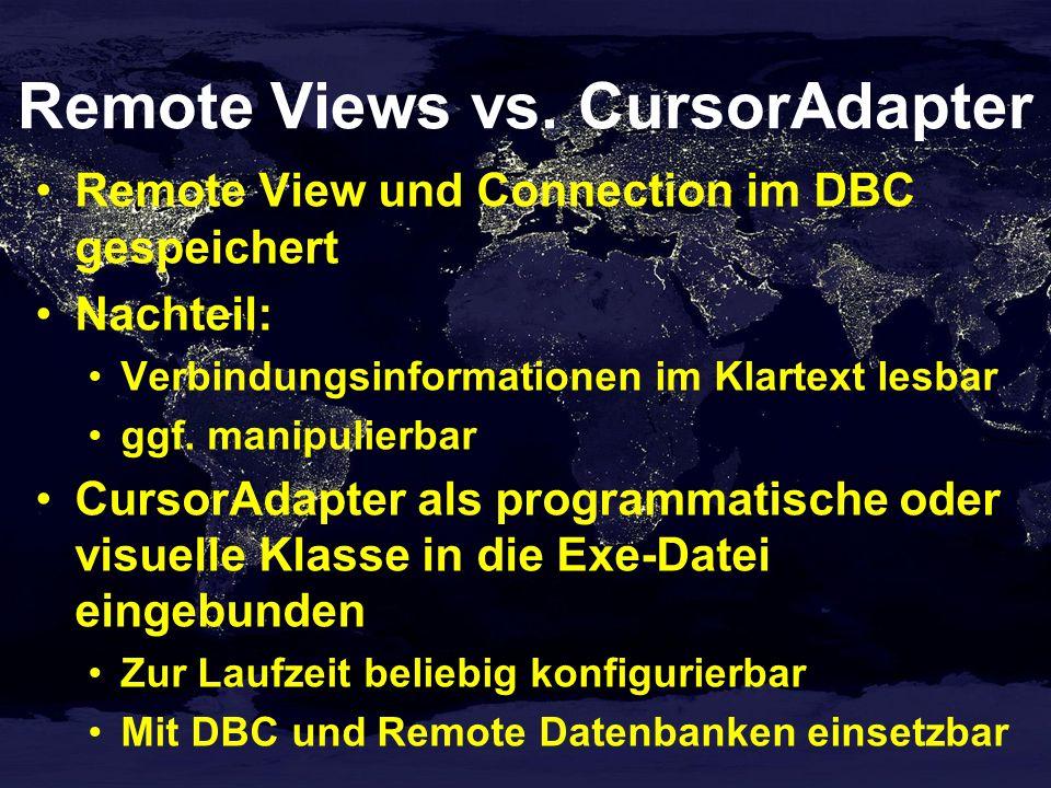 Remote Views vs.