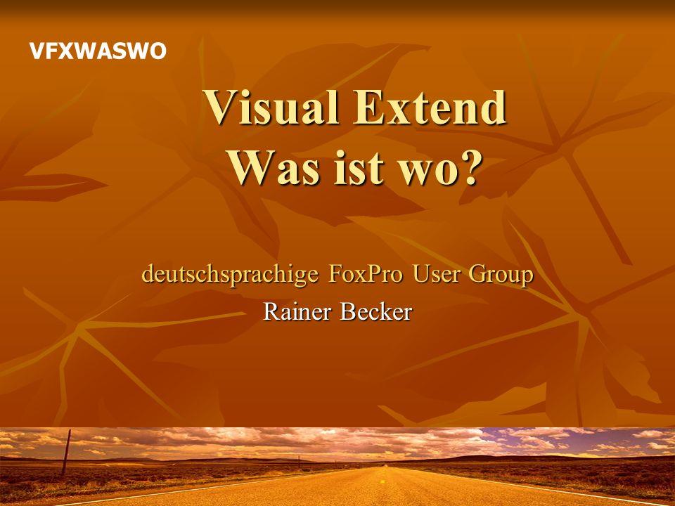 Rainer Becker dFPUG dFPUG Online-Angebote Online-Angebote Loseblattsammlung Loseblattsammlung FoxRockX .