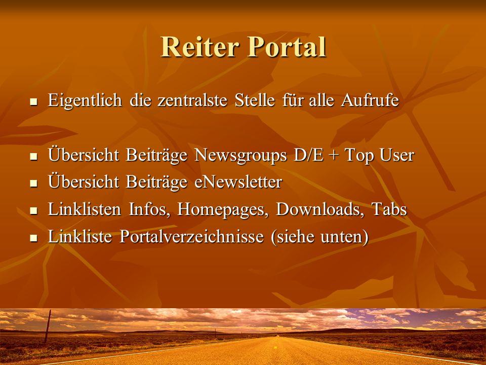 Verzeichnis Portal Unterverzeichnisse enthalten viele Dokumente.