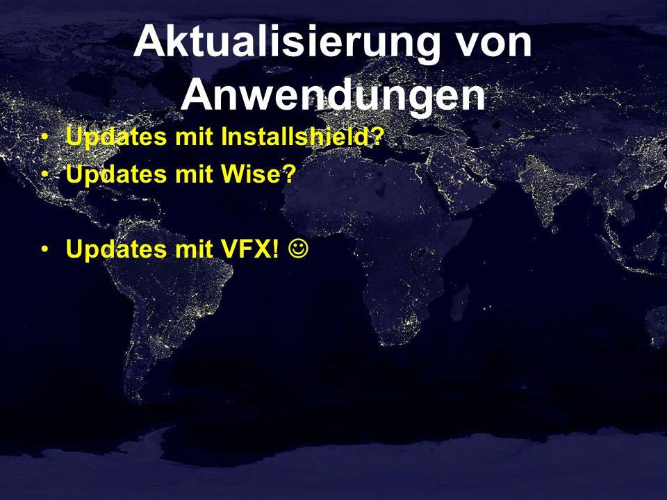 Aktualisierung von Anwendungen Manuelle Updates Automatische Updates goProgram.cIniUrl Ohne Versions- und Kundenverwaltung Mit Versions- und Kundenverwaltung