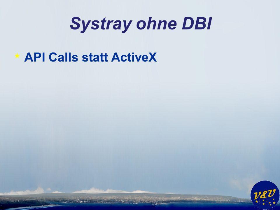Systray ohne DBI * API Calls statt ActiveX