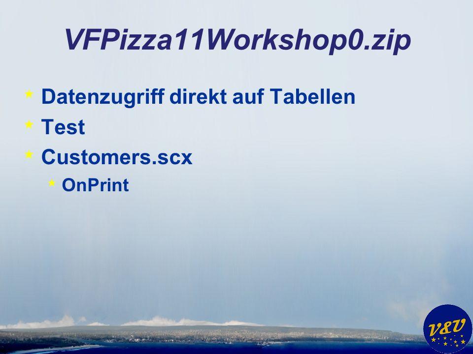 VFX 11.0 * Umbau einer bestehenden Anwendung von DBF Datenzugriff auf Cursoradapter Datenzugriff * VFX – DBF-CA Wizard * Manuelle, programmatische Änderungen