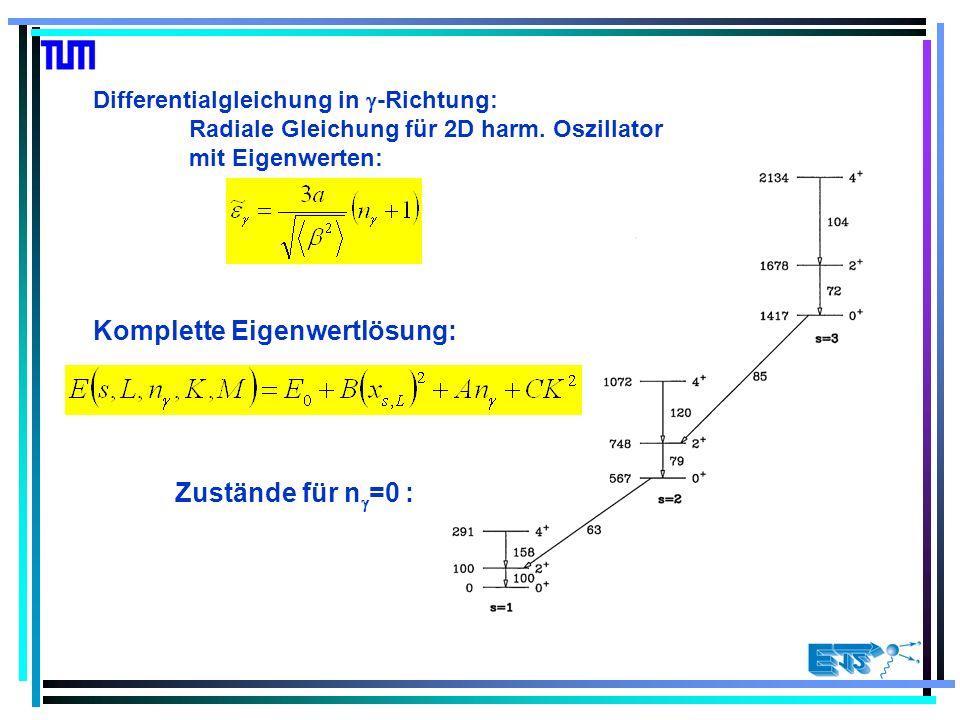 Differentialgleichung in -Richtung: Radiale Gleichung für 2D harm.