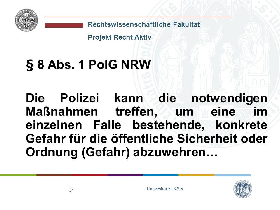 Rechtswissenschaftliche Fakultät Projekt Recht Aktiv Universit ä t zu K ö ln 38 Bestrafung des Herrn Neumeier