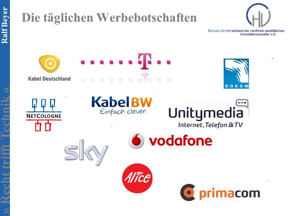 » Recht trifft Technik « Exklusiv für den Ralf Beyer Die täglichen Werbebotschaften