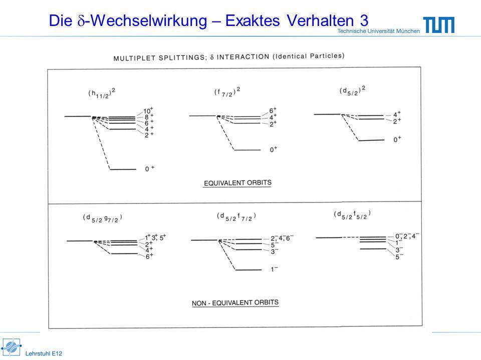 Beispiel für Vibrationskern: 118 Cd |1 |0 |2 |3 (aus Casten) Es sind Anharmonizitäten Vorhanden !!