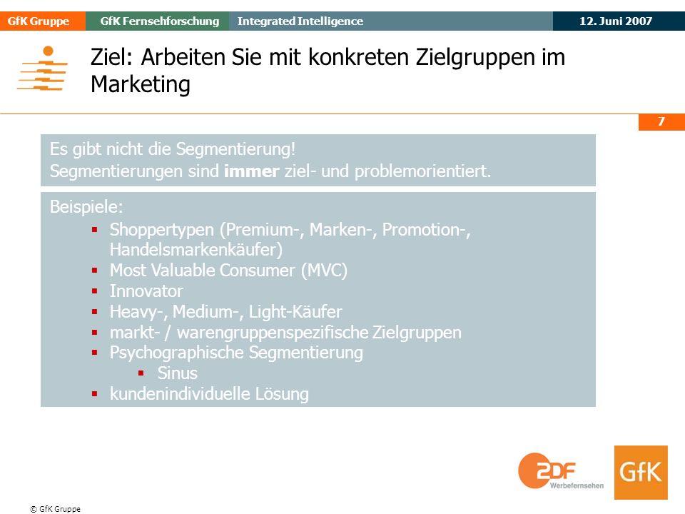 May 2006Evogenius GfK GruppeGfK Fernsehforschung 12.