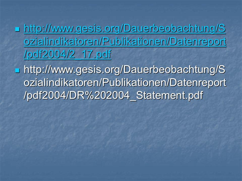 http://www.gesis.org/Dauerbeobachtung/S ozialindikatoren/Publikationen/Datenreport /pdf2004/2_17.pdf http://www.gesis.org/Dauerbeobachtung/S ozialindi
