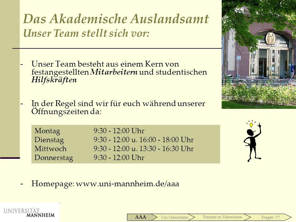 Uni Mannheim AAA Freizeit in Mannheim Fragen ?!.Freizeit in Mannheim Hunger ?!.