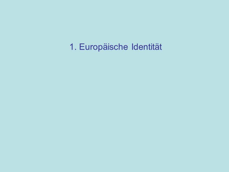 1. Europäische Identität