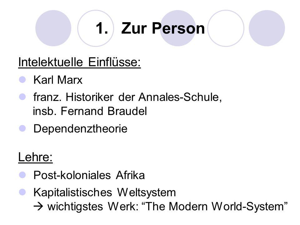 5.Kritik Die Weltsystemtheorie ist ein reines Zirkulationsmodell.