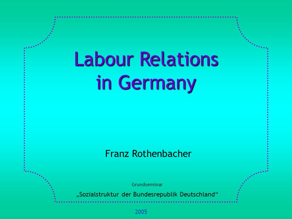 1.Basic Concepts and Definitions 2.Methods of Measurement of the Development of Trade Union Membership 3.Sociological Theory and Trade Union Membership 4.Historical Development of Trade Union Membership 5.Change of the Social Structure as Cause of Trade Union Membership Decline 6.Trade Union Membership in International Comparison 7.Recent Challenges to the Trade Unions 8.References