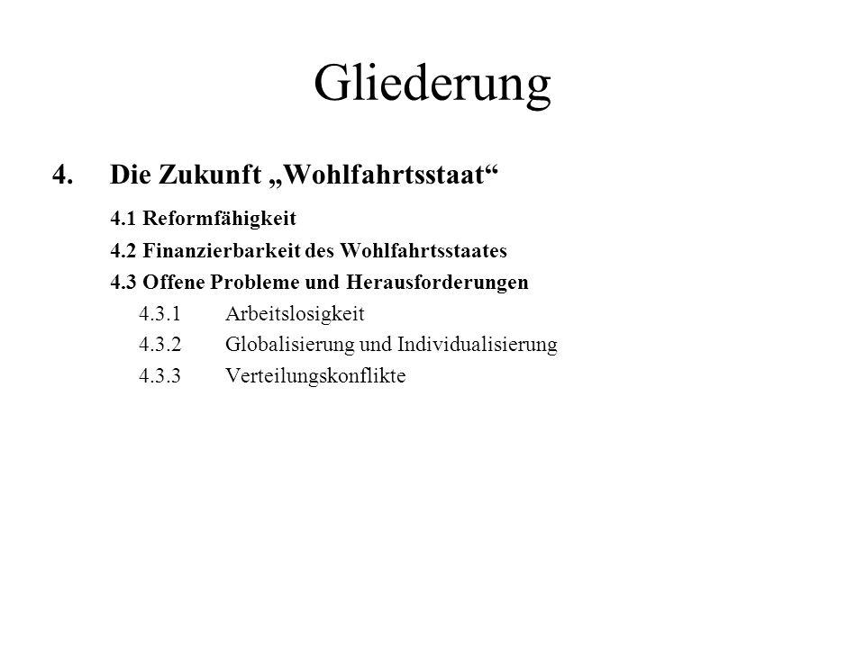 3.1.1 Esping-Andersen-Modell Vergleichskriterien nach Esping-Andersen: Anlehnung an Marshall: soziale Staatsbürgerschaft.