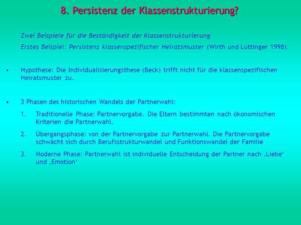 8.Persistenz der Klassenstrukturierung.