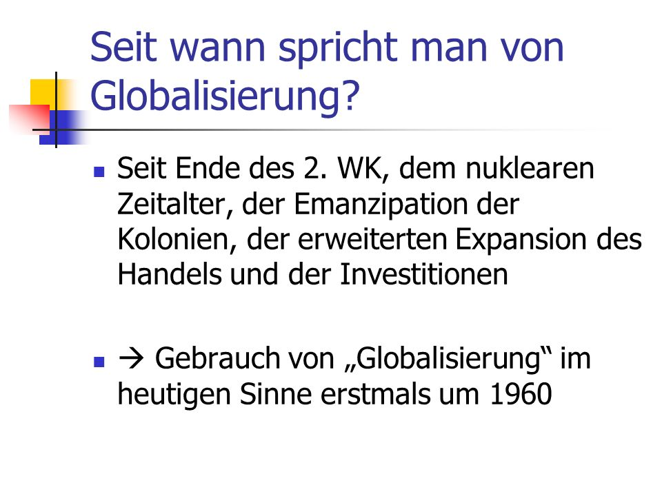 4 Indikatoren für Globalisierung: Ökonomische Finanzielle Soziale & Politische Bibliographische