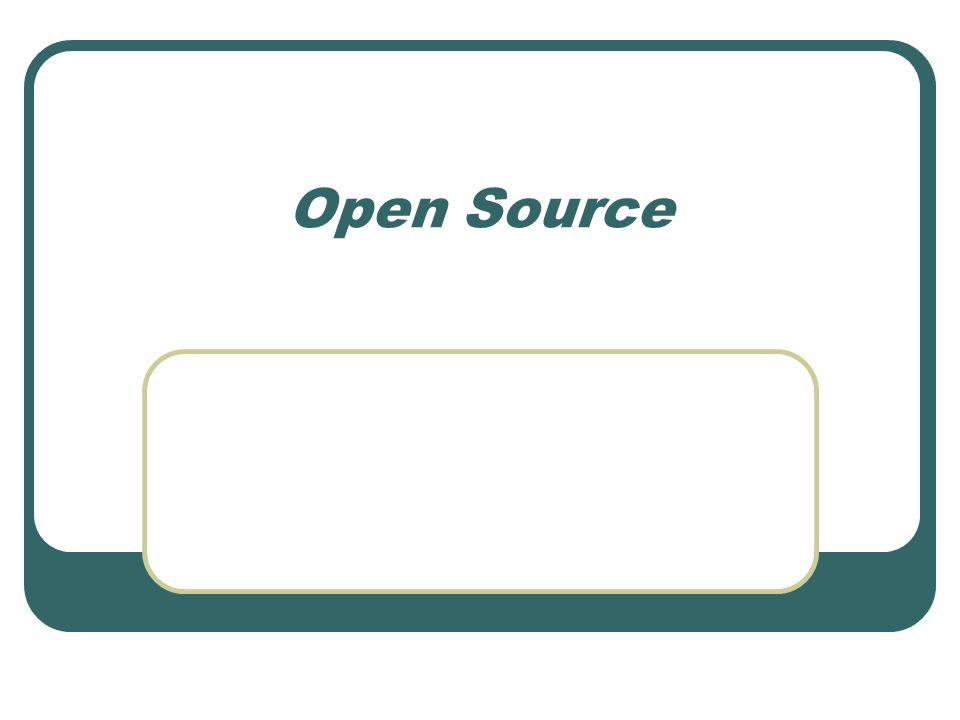 Was bedeutet Open Source.Setzt sich aus den englische Wörtern open und source zusammen.