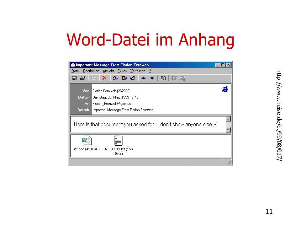 11 Word-Datei im Anhang http://www.heise.de/ct/99/08/017/