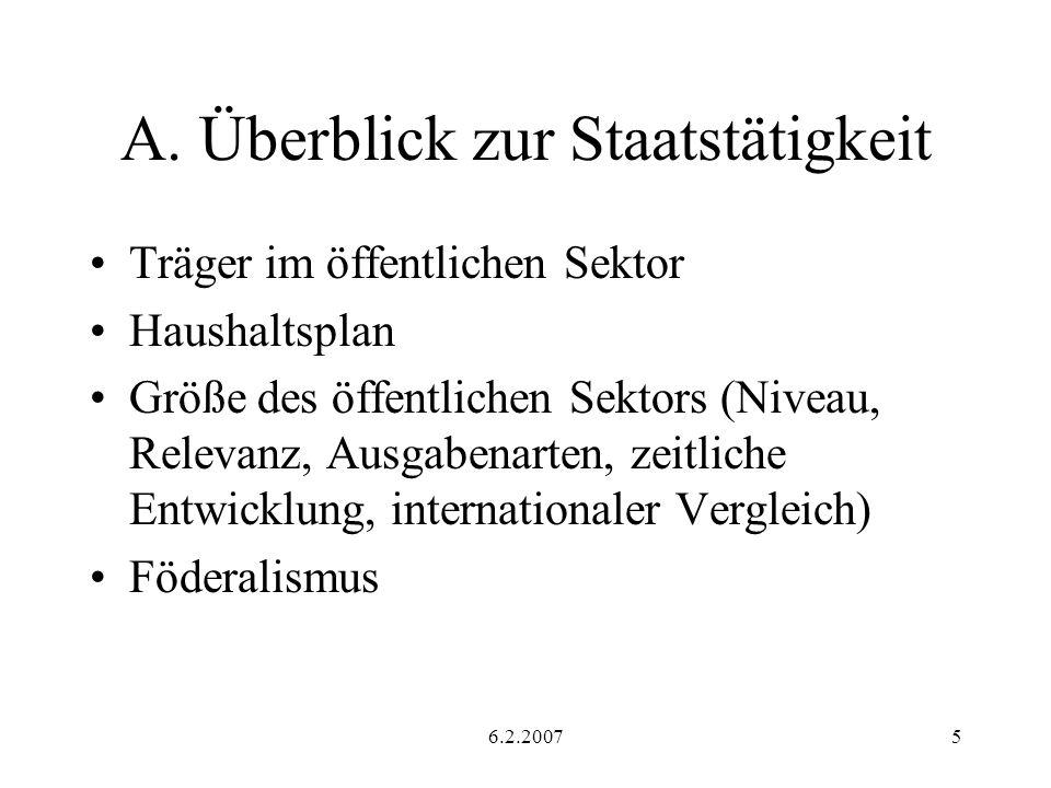6.2.200746 Optimale Einkommensbesteuerung Idee: Mirrlees (1971) Hier: Ansatz von Stiglitz Annahmen Endogenes Einkommen keine Pauschalsteuer Heterogene Individuen Nur Bruttoeinkommen beobachtbar