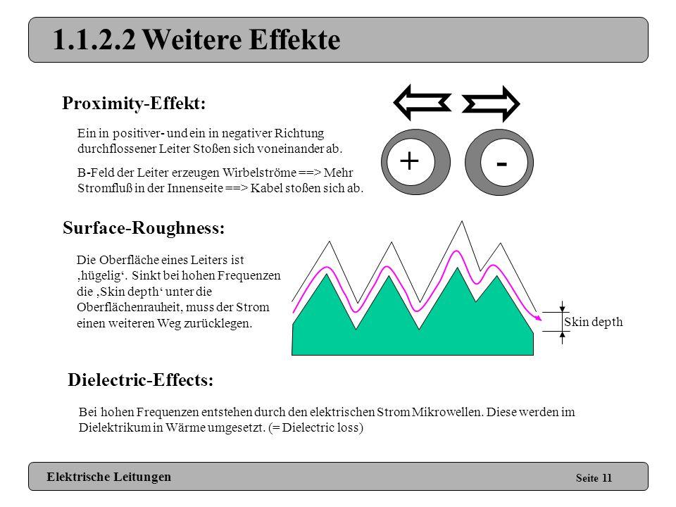1.1.2.1 Skin Effekt Seite 10 Elektrische Leitungen