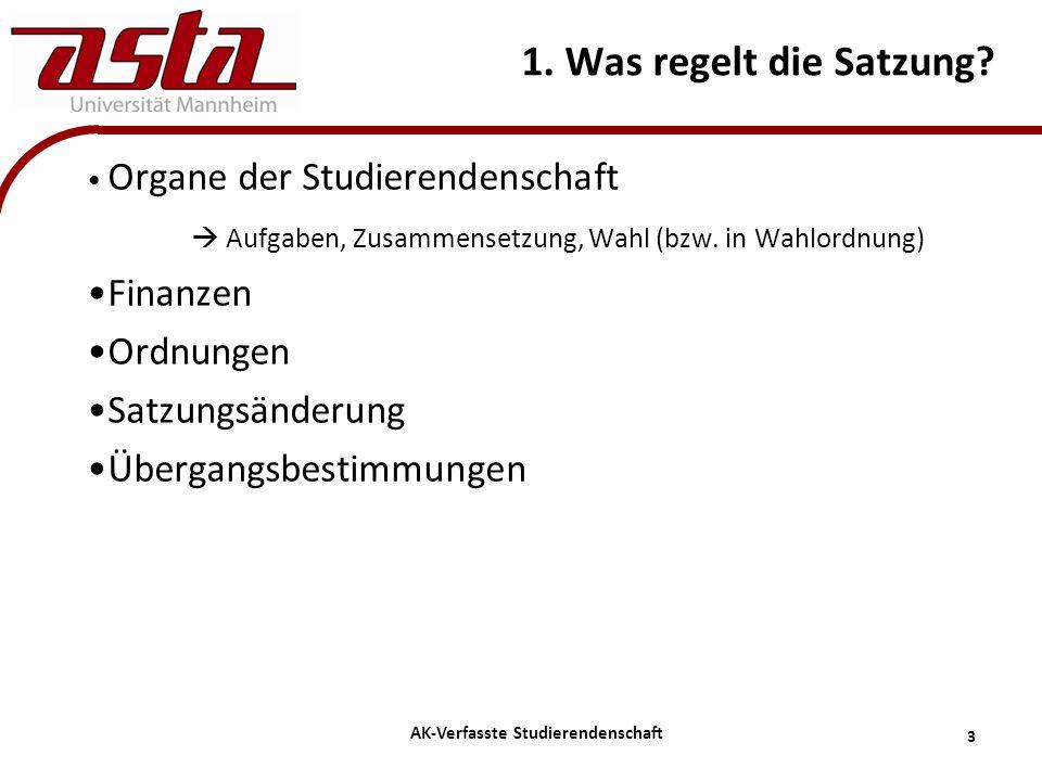 4 AK-Verfasste Studierendenschaft 2. Uni Mainz