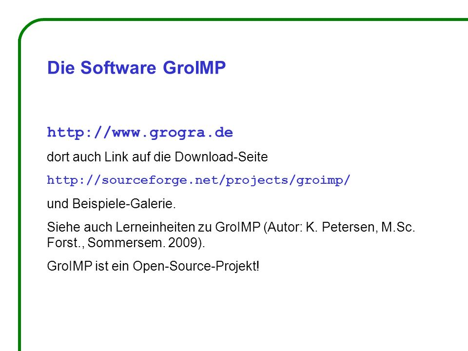 Die Software GroIMP http://www.grogra.de dort auch Link auf die Download-Seite http://sourceforge.net/projects/groimp/ und Beispiele-Galerie.