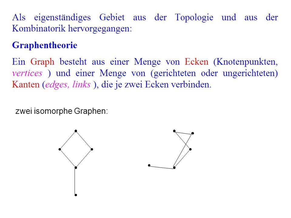 zwei isomorphe Graphen: