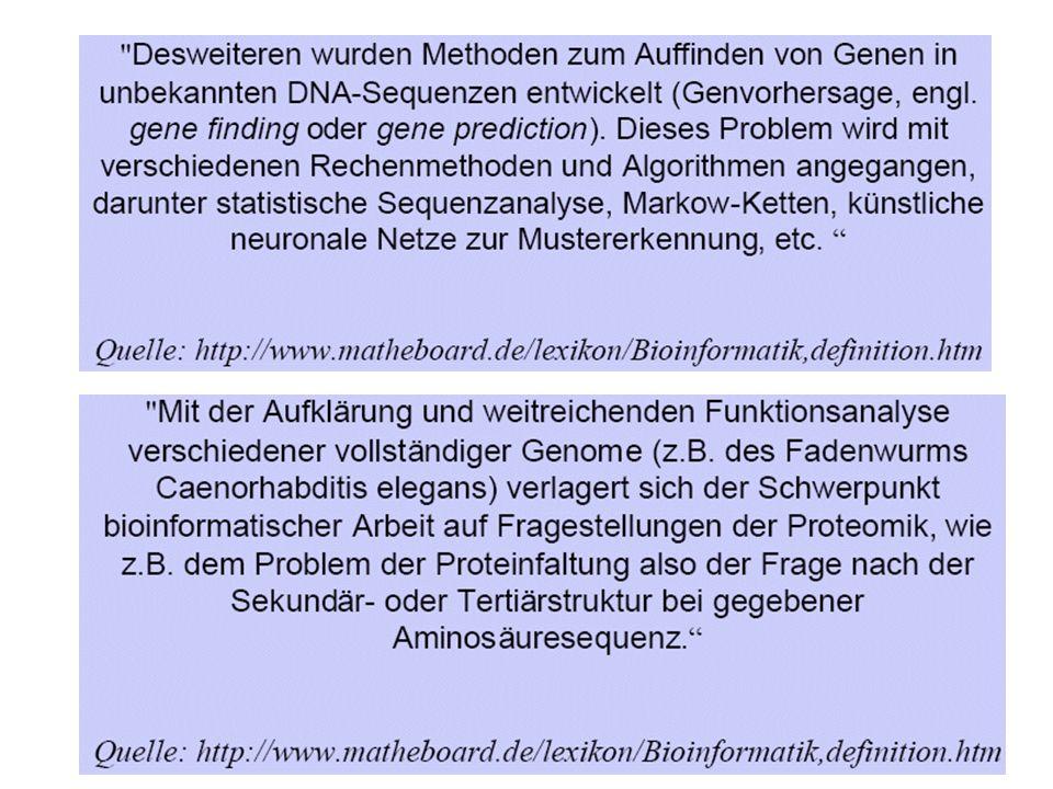 Quelle: DKFZ Abteilung Bioinformatik und Funktionelle Genomik