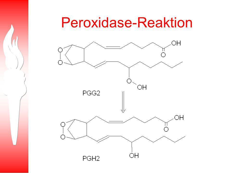 Peroxidase-Reaktion