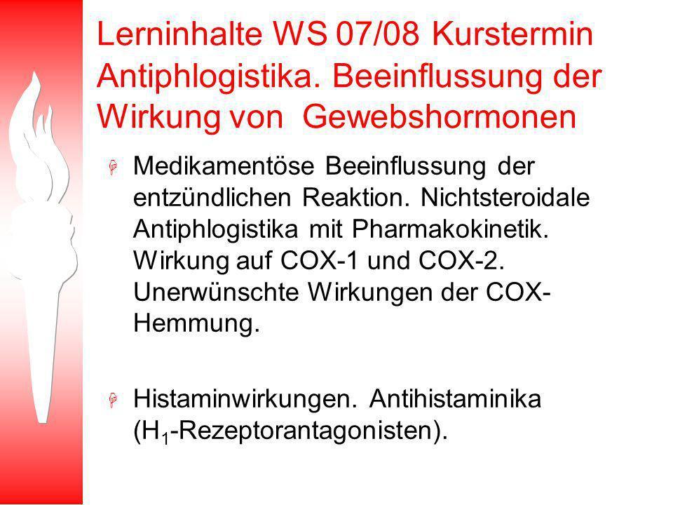 Klassische NSARs: Diclofenac und Ibuprofen