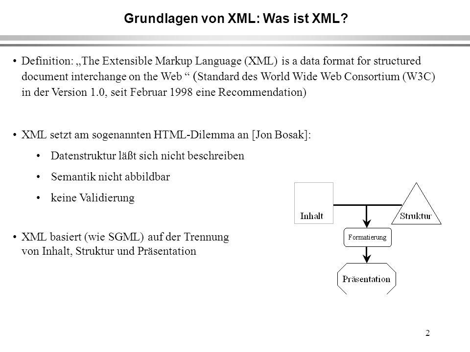 13 Rechnung im XML-Format