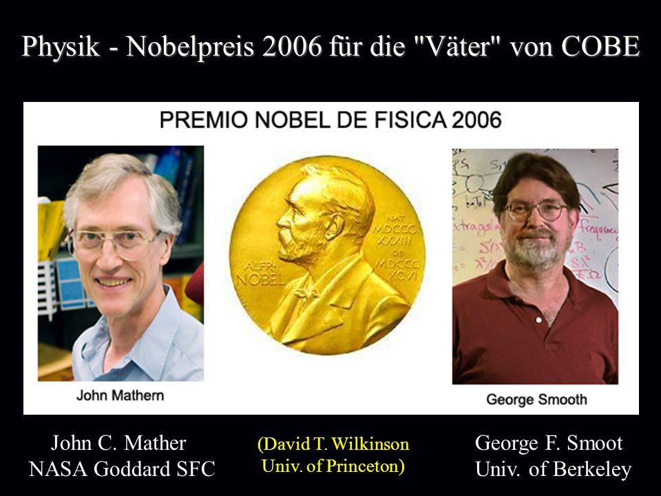 Physik - Nobelpreis 2006 für die