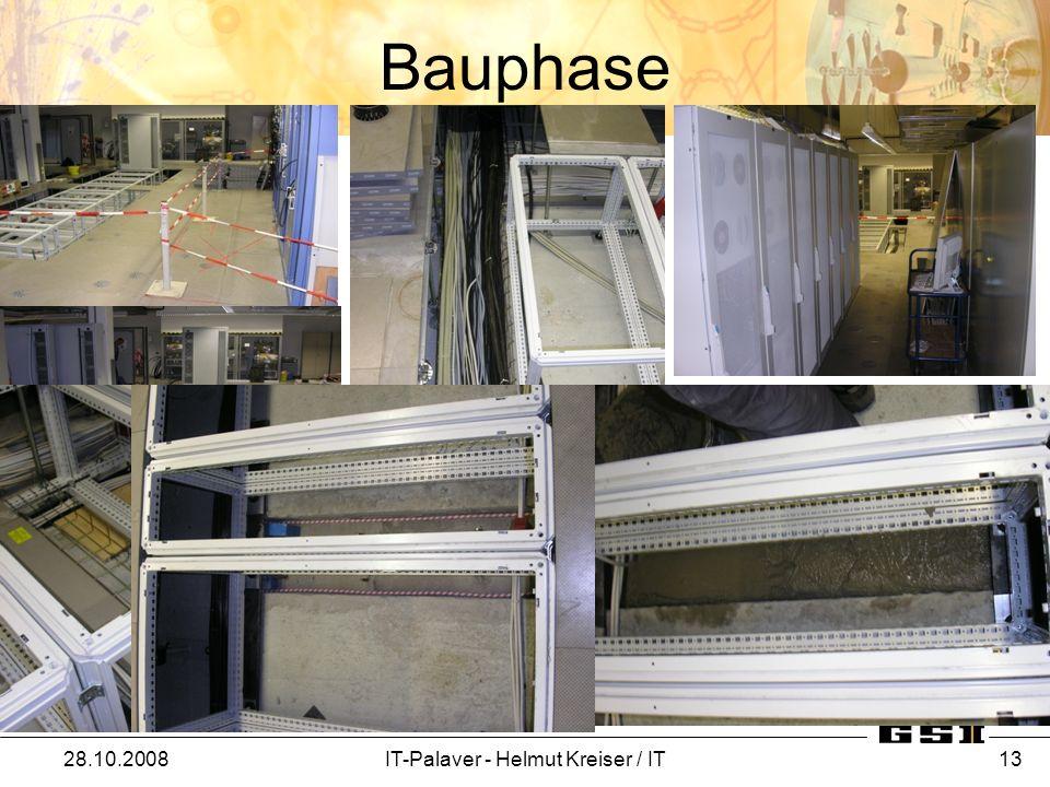 Bauphase 28.10.2008IT-Palaver - Helmut Kreiser / IT 13