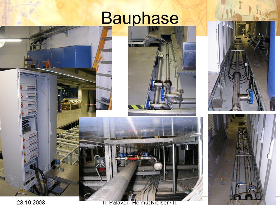 Bauphase 28.10.2008IT-Palaver - Helmut Kreiser / IT 14